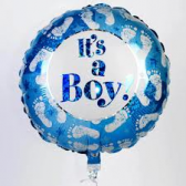 Baby boy hellium balloon