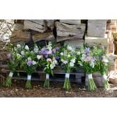 Rustic maids bouquets